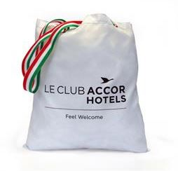 Shopping bag personalizzata Le Club Accorhotels